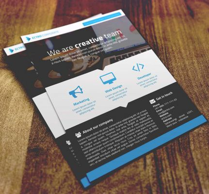 Get flyers, posters and other publicity material designed for you