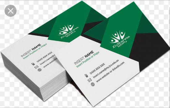 Get Attractive Business Card Designs, billboard designs, letter heads, IV cards