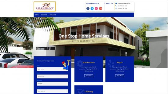 Get a professional website, business application or a mobile application.