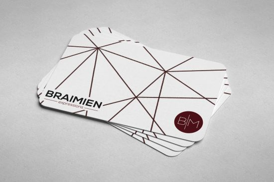 Get a professional business cards and letterheads designed for you