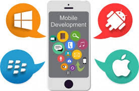 Get your business to the world through mobile apps.