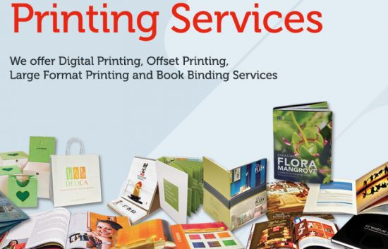 Get high quality printing services