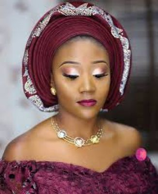 I will help you tie your gele for every different event/ocassion