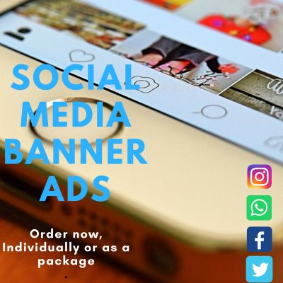 Get your social media banner advertisement created