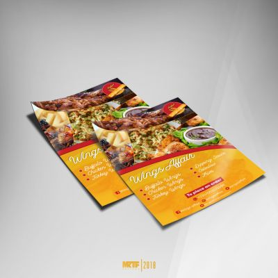 Get high resolution designs for your flyers, banners & other publicity materials