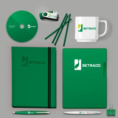 Get your professionally, corporately branded items.
