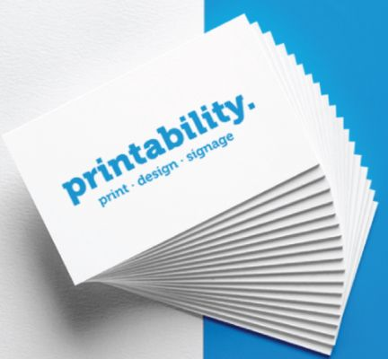 Get professional design & printing of business cards, letterhead, ID cards, etc.