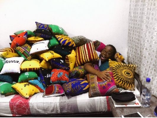 I will do your custom pillow designs with Ankara fabric