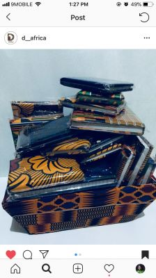 Get your Custom Ankara notepads from me!!