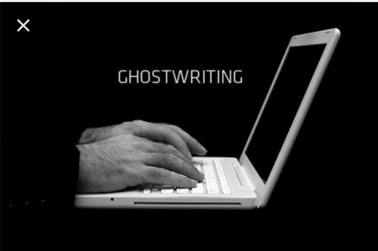 I will ghostwriter your books, articles and blogs for you.