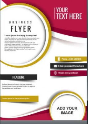 Get quality designs for your flyers, brochure and stationery materials