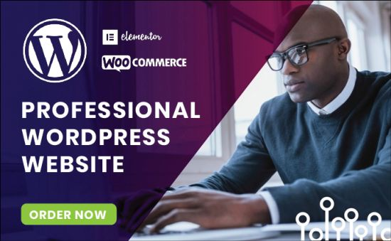 I Will Create An Awesome Wordpress Website For Your Business
