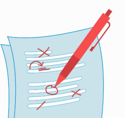 Get your work and essays proofreaden and mistake free in a short time.