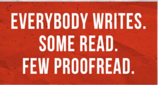 Get your writing copy edited and proofread in concise and clear language.