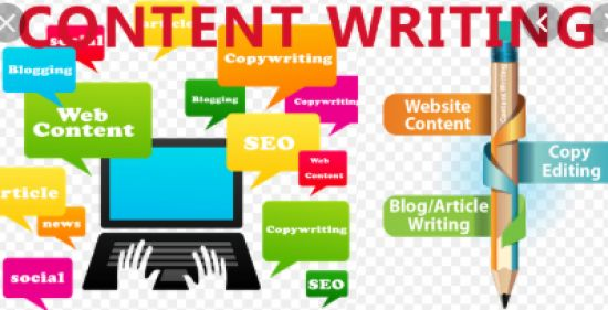 Write sales copy, content for website and blogs