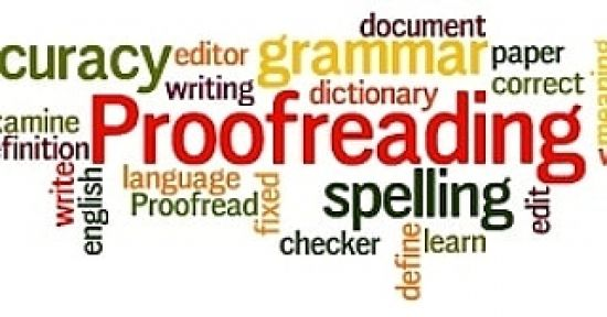 LET ME BE YOUR TRUSTED PROOFREADER with a well-polished work furnished for you.