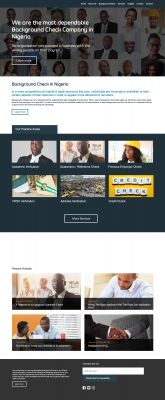 I will a build a professional website responsive across all platforms
