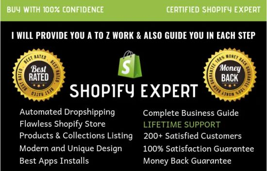 We Will Develop Complete Shopify Dropshipping Store Shopify Website
