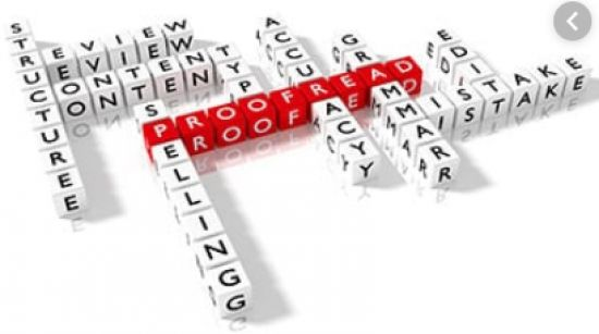 Get your document proofread professionally,
