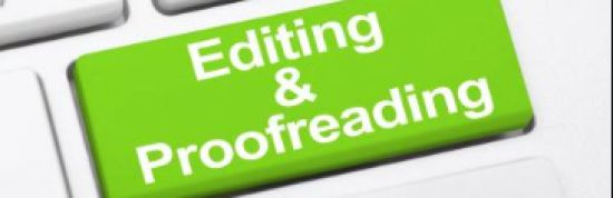 I will proofread your articles for you.